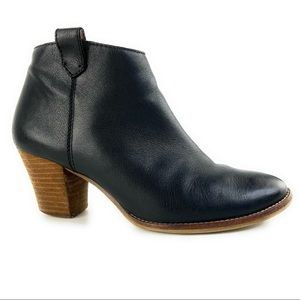 Madewell Shoes - Madewell Black Leather Billie Ankle Booties